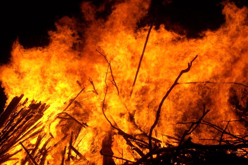 ВПочинковском районе впроцессе пожара погибли два человека