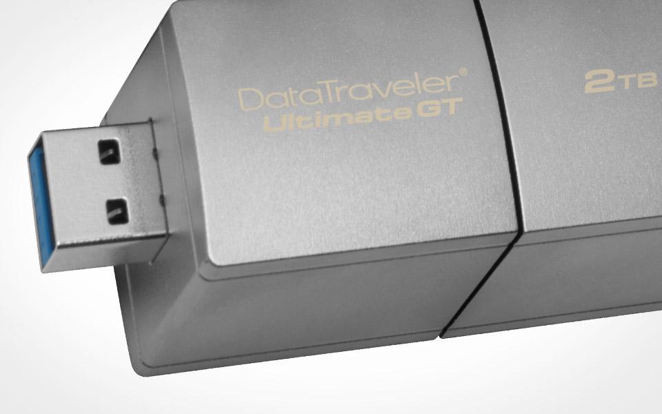 Kingston выпустила «флэшку» DataTraveler UltimateGT емкостью 2 ТБ