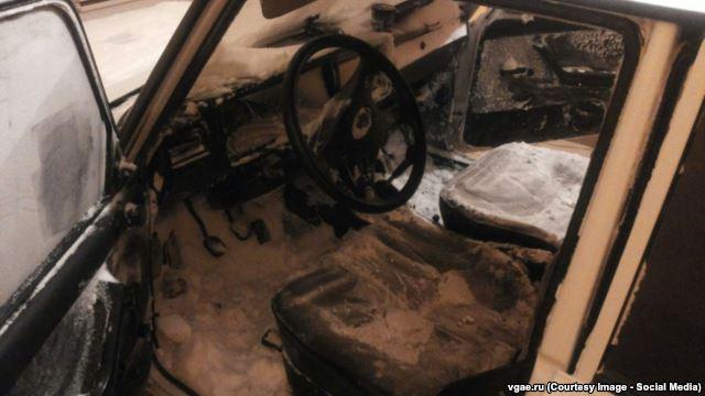 Оренбуржец, застрявший вснежном заторе, записал обращение кПутину