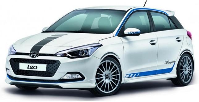 Hyundai запустил в продажу специальную версию модели i20 Sport