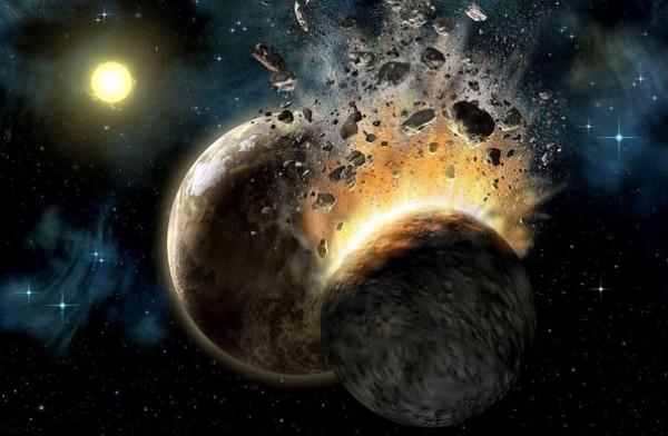Луна сформировалась впроцессе столкновения Земли спротопланетами— Ученые