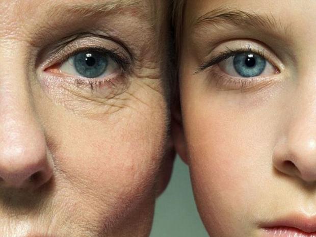 Люди начинают стареть в39 лет