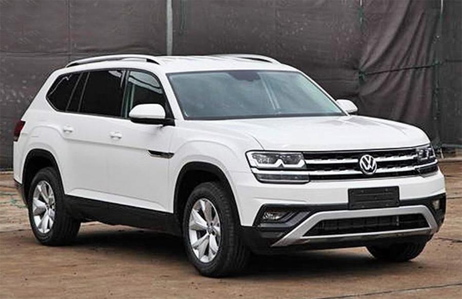 Объявлена официальная стоимость джипа VW Atlas