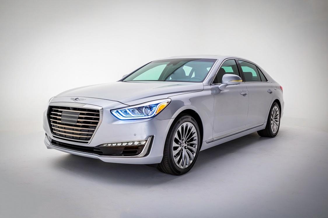 Genesis за3 месяца продаж воплотил в РФ 46 авто