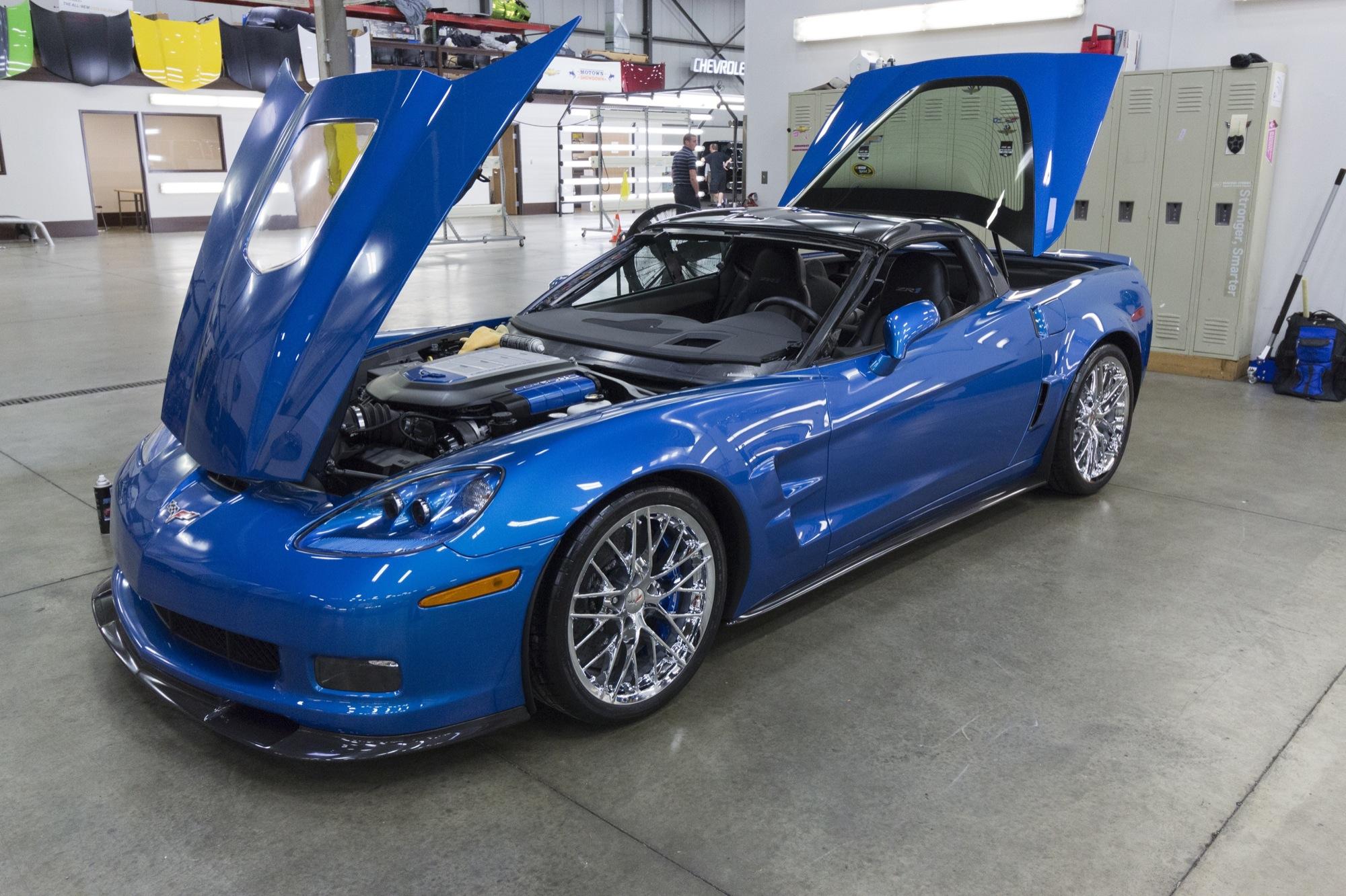 Спорткар Chevy Corvette ZR1 неувидят на автомобильном салоне вДетройте