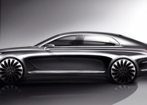 В Детройте состоялась мировая премьера флагманского седана Genesis G90