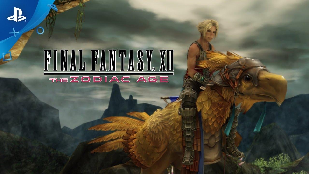 Анонсирована компьютерная версия Final Fantasy XII: The Zodiac Age