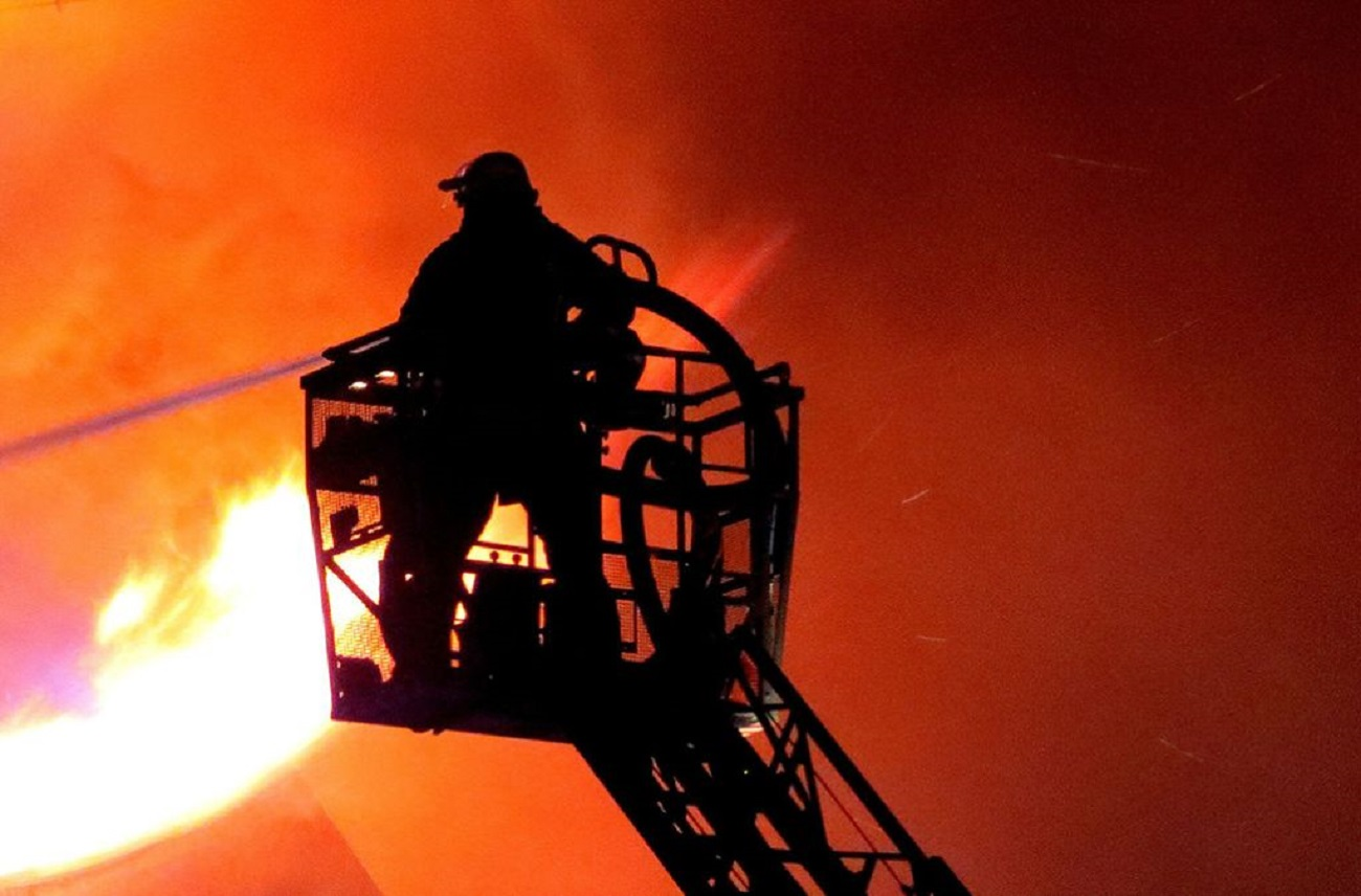 ВЮрюзани живьем  сгорела семья из 3-х  человек