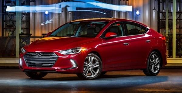 В США стартовали продажи нового поколения седана Hyundai Elantra