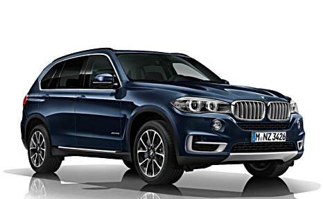 Появились шпионские снимки нового BMW X7