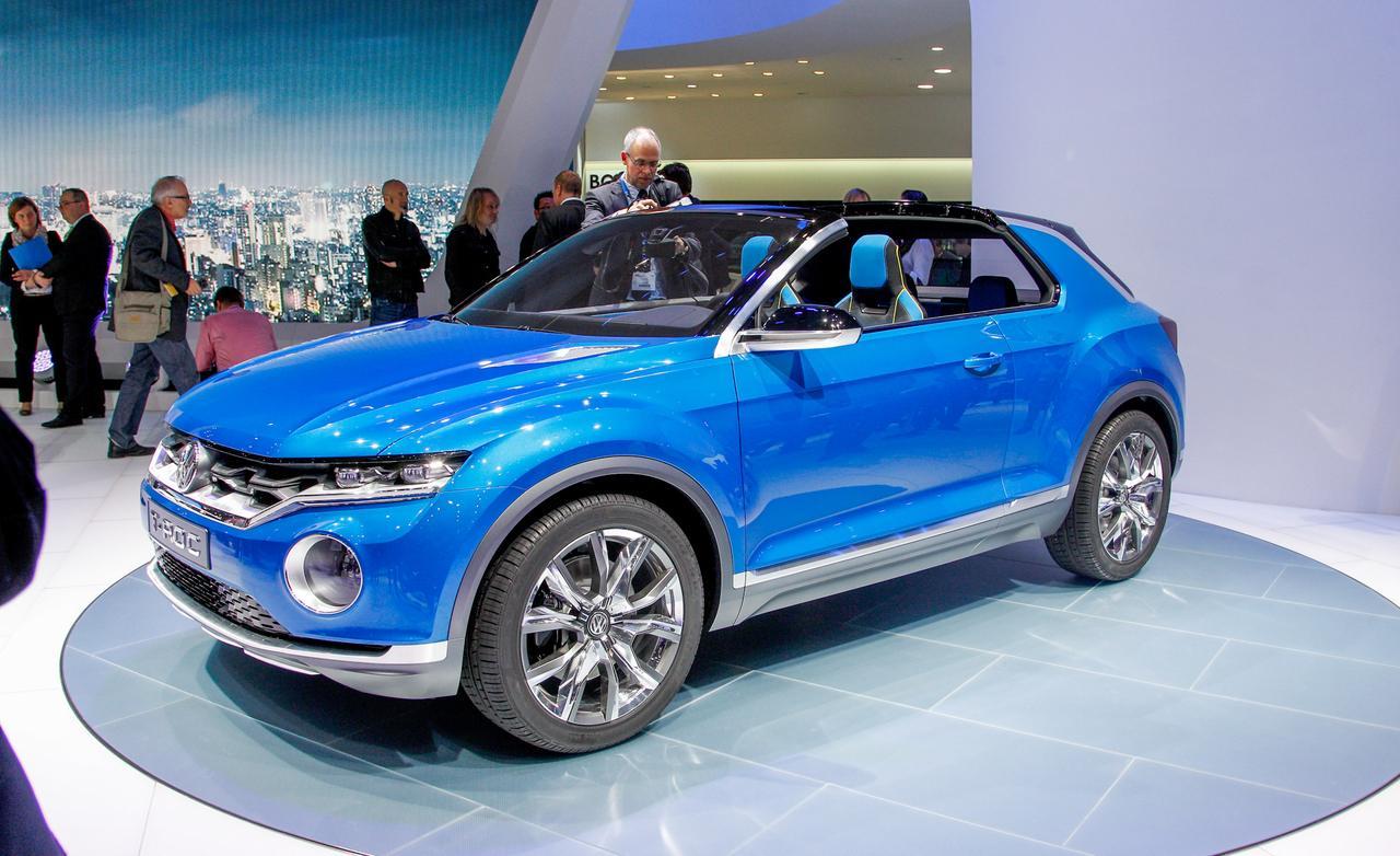 Уже в2015 году  начнутся продажи концептуального VW  T-ROC