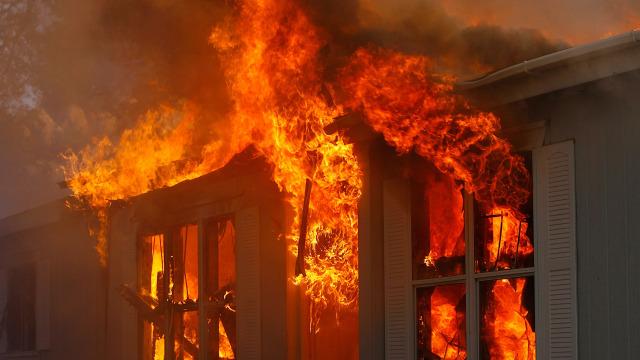 ВоВсеволожском районе пожар забрал жизнь 40-летнего мужчины