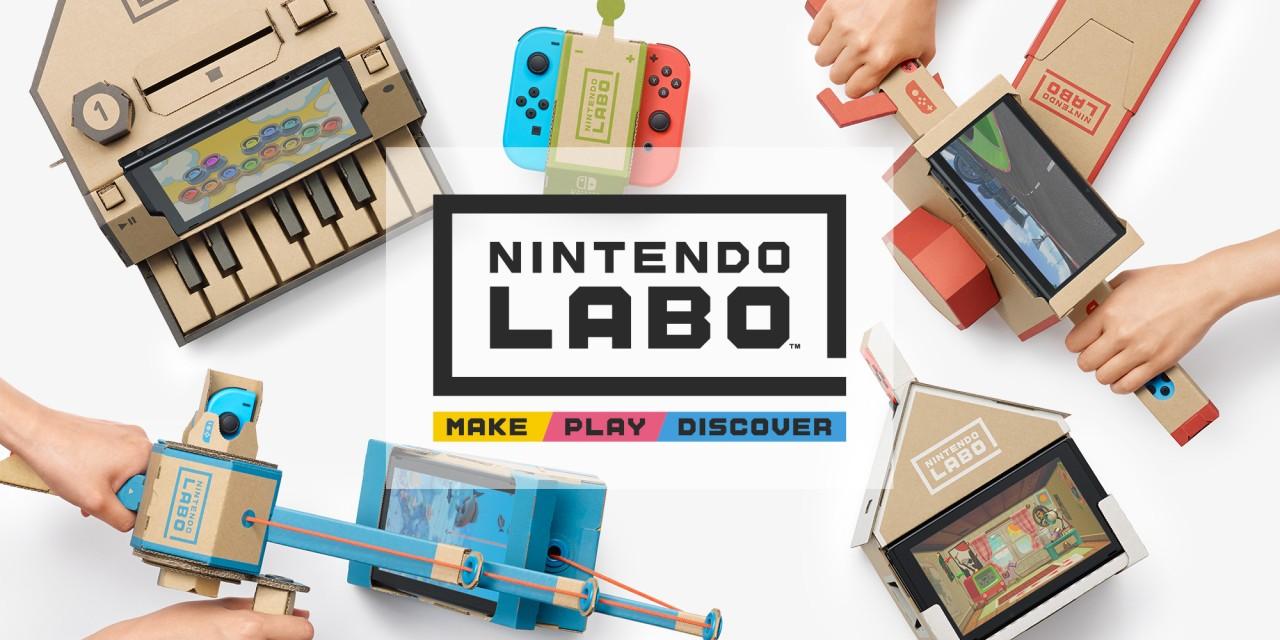 Nintendo выпустит картонный конструктор Labo для консоли Switch
