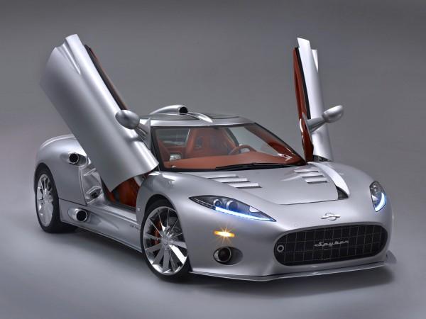 Spyker готовится презентовать электрический спорткар в Женеве