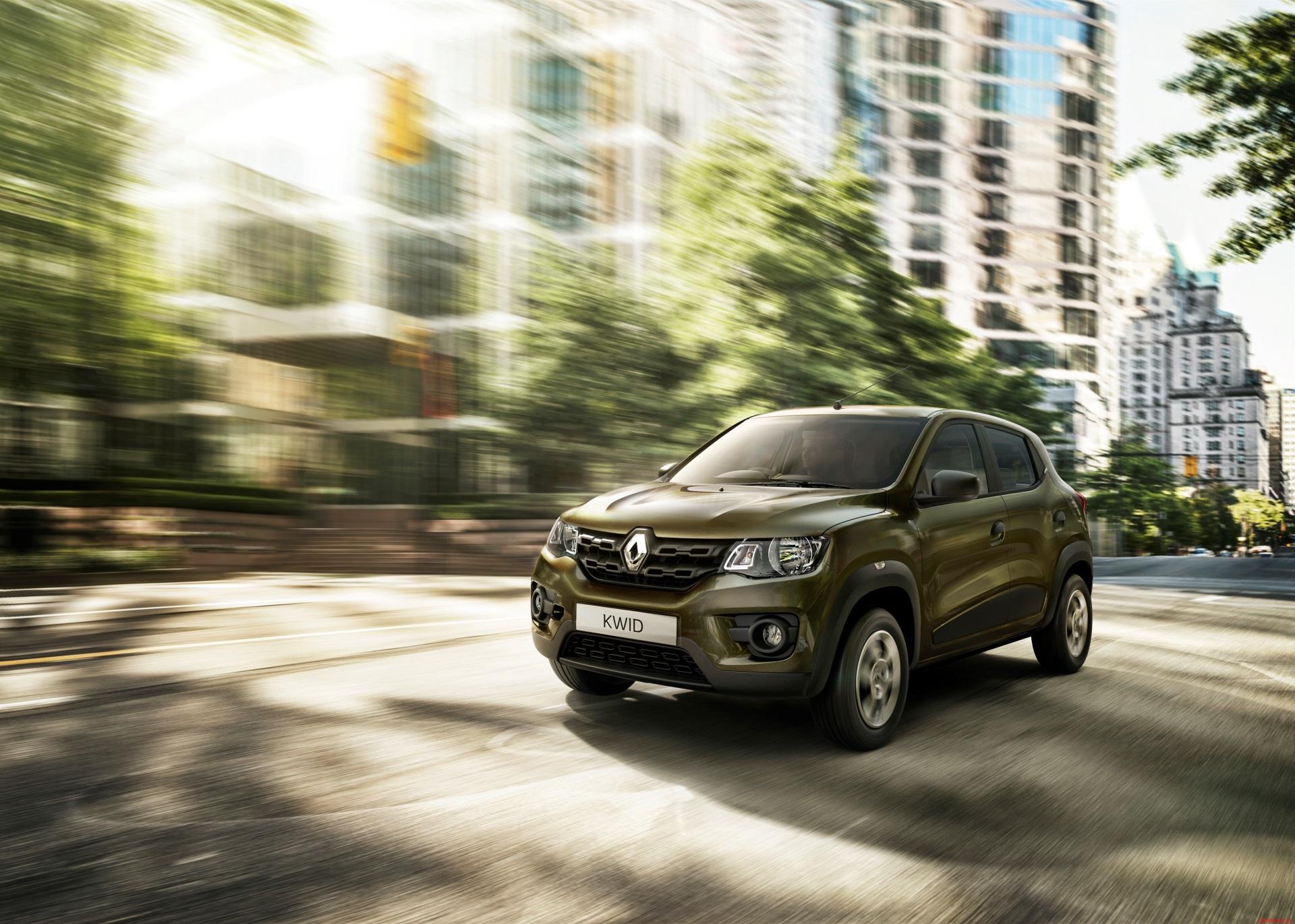 Renault готовит бюджетный Kwid с двигателем увеличенного объёма
