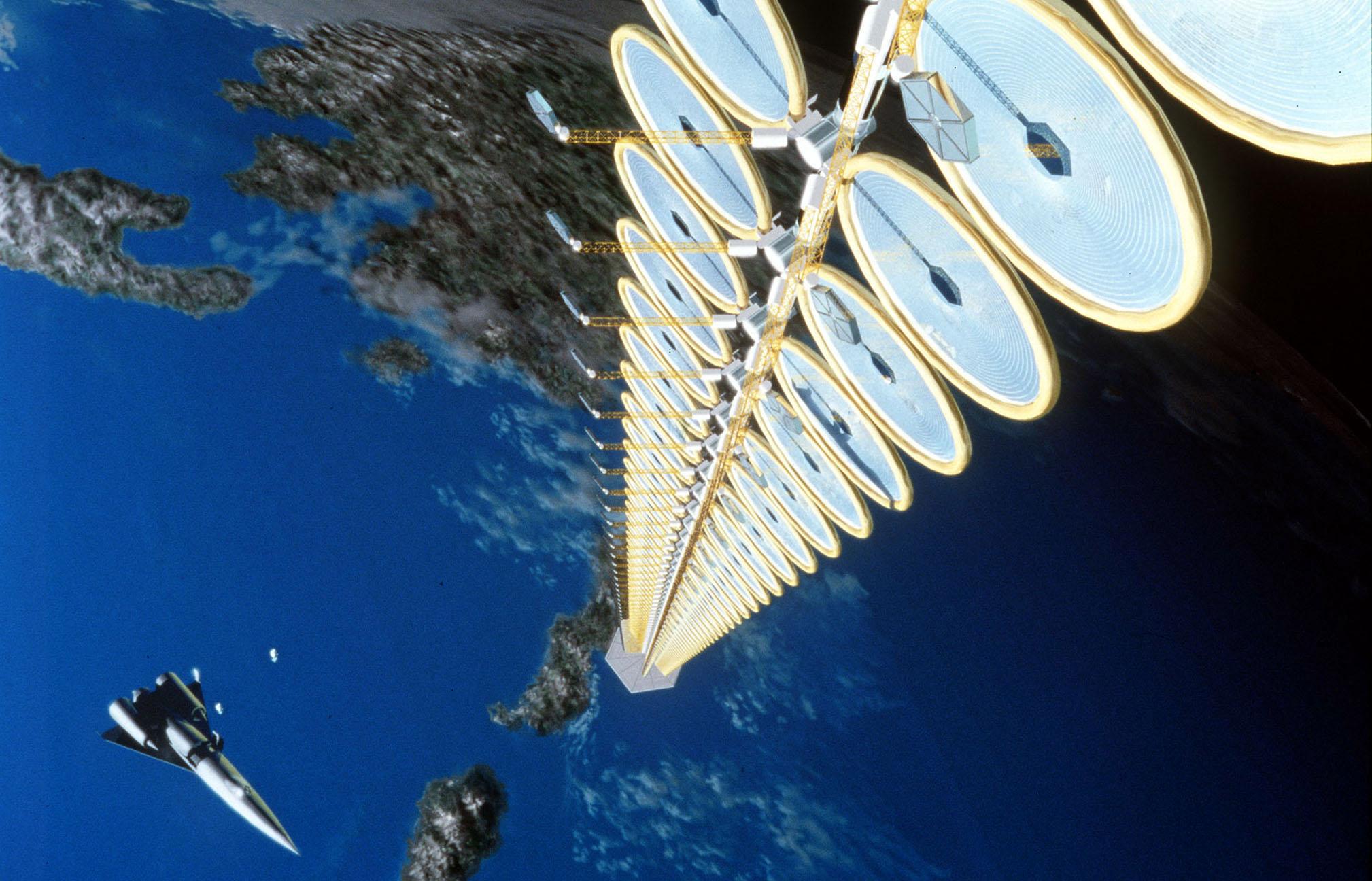 Русские учёные посоветовали запустить солнечную станцию вкосмосе