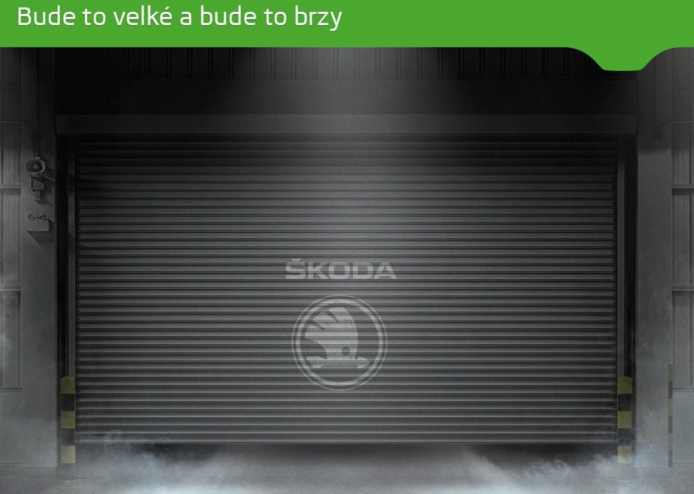 Опубликован первый тизер нового кроссовера Skoda