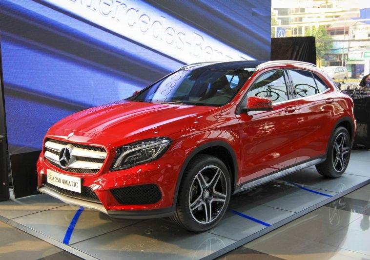Benz оснастит улучшенный кроссовер GLA новым двигателем