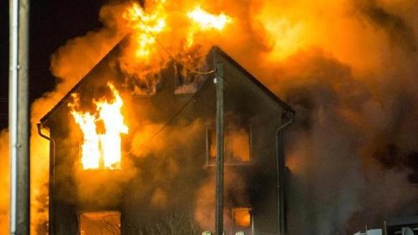 Ребёнок умер напожаре вДновском районе