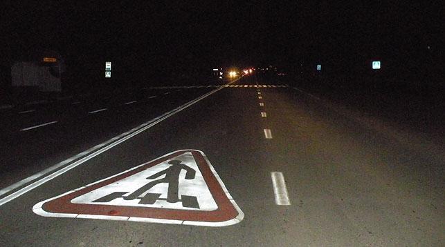 Под Копейском шофёр легковушки втемноте насмерть сбил пешехода