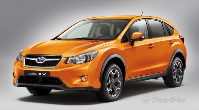 XV- самая женская модель Subaru в России