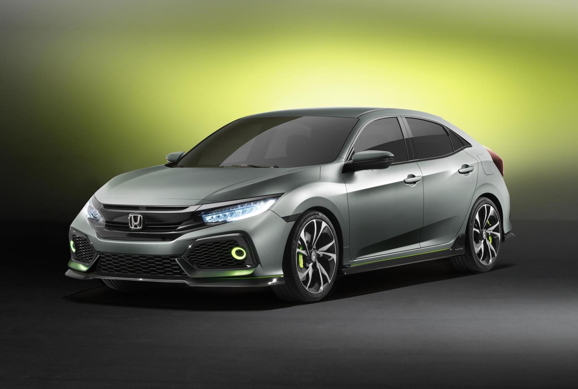 Хонда представила европейскую версию хэтчбека Civic десятого поколения