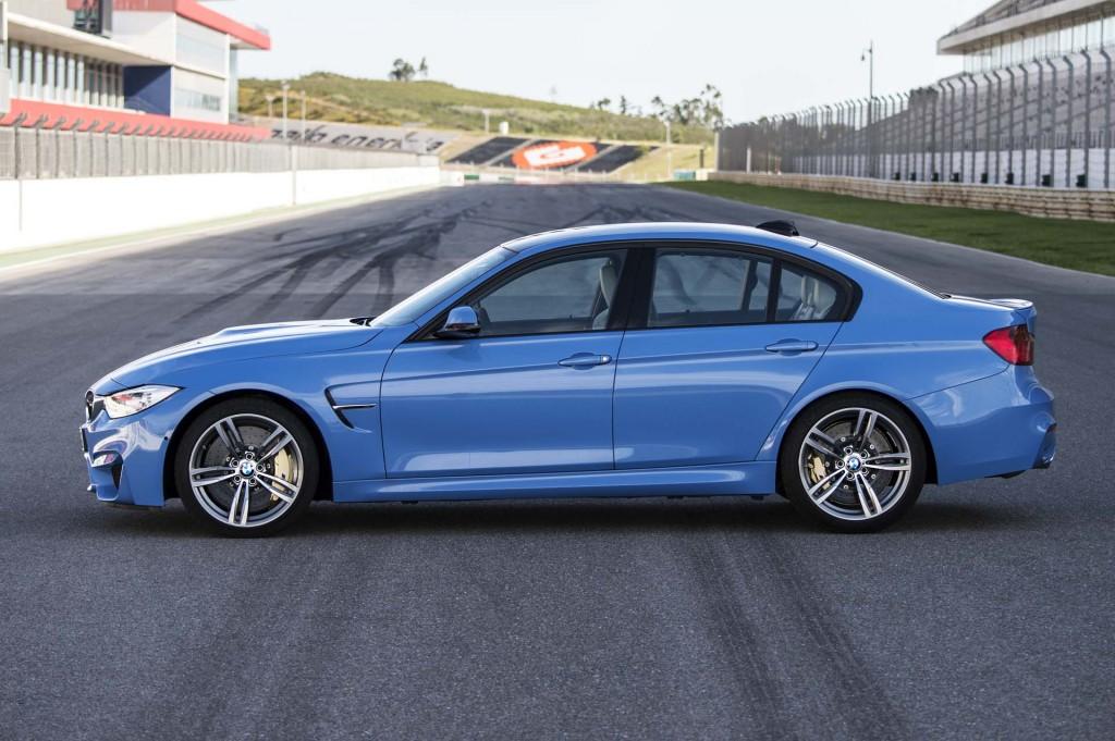 Слегка обновленный BMW M3 официально дебютирует в марте 2017 года
