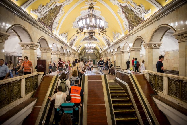 Сообщения встоличном метро переведут на британский язык