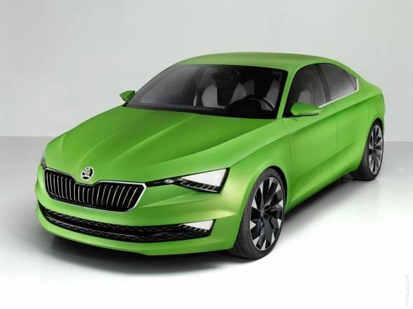 Skoda представит на Женевском автосалоне концепт-кар VisionS