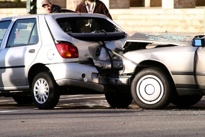 ВВолгограде столкнулись сразу 4 машины