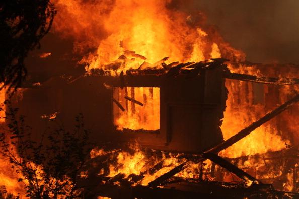ВРостовском районе впожаре умер мужчина