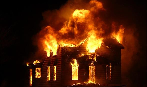 ВКраснодаре впожаре в личном доме пострадали 4 человека