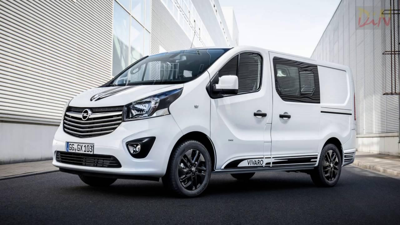 Начат прием заказов наспортивный фургон Опель Vivaro Sport