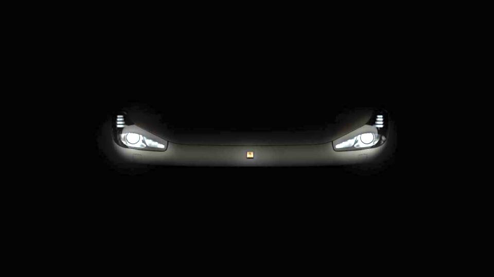 Компания Ferrari опубликовала тизер модели FF