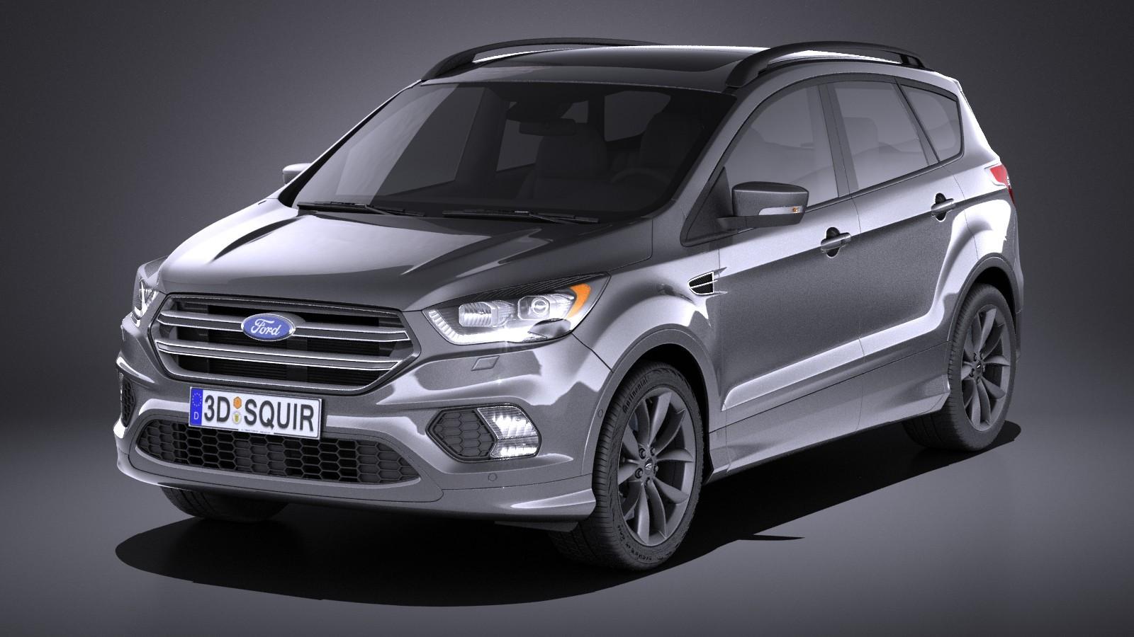 Русские представители заключили неменее 1 000 контрактов нановый Форд Kuga