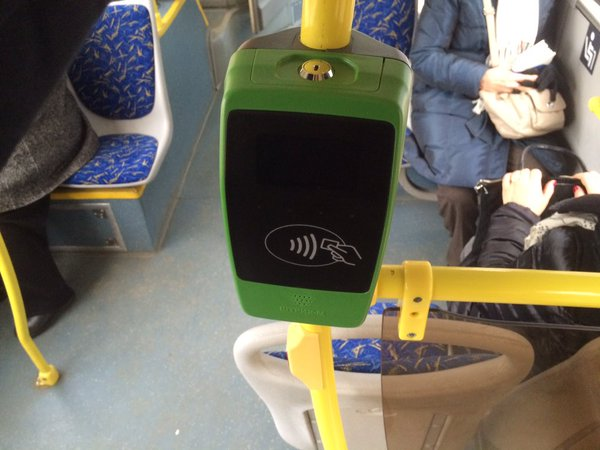 Пассажиры московских маршруток смогут оплачивать проезд посредством смартфонов