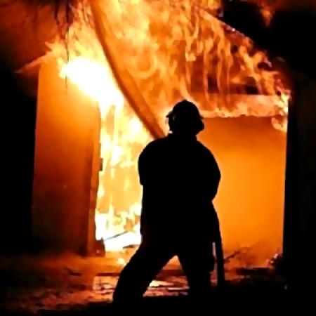Две бани сгорели вНижегородской области вночь на5февраля