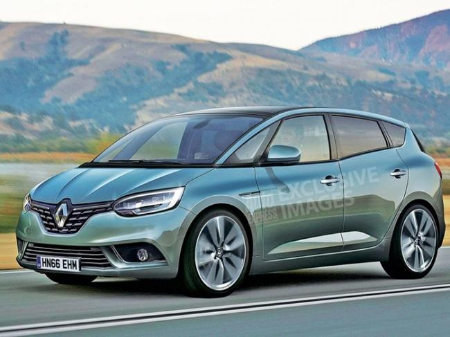 На автосалоне в Женеве представят новое поколение Renault Scenic