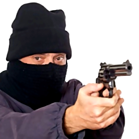 ВЕкатеринбурге мужчина спистолетом ограбил банк наЩорса