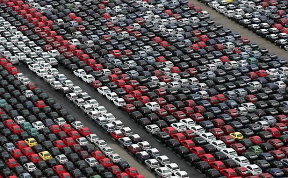 В январе 2016 продажи новых автомобилей в Китае выросли на 9,3