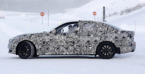 Седан BMW 3 Series 2018 замечен на дорожных тестах