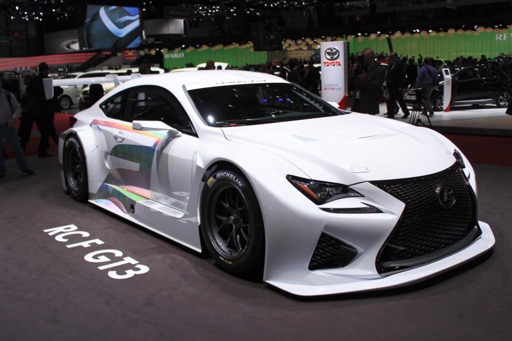 На Женевском автосалоне состоится премьера гоночного автомобиля Lexus RC F GT3