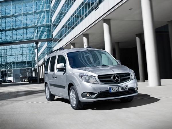 Mercedes-Benz пока не планирует производить Citan в России
