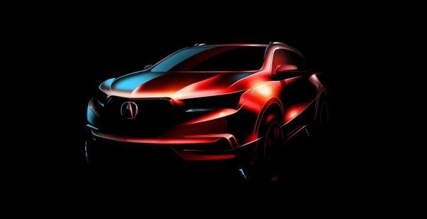 Кроссовер Acura MDX нового поколения дебютировал на официальном скетче