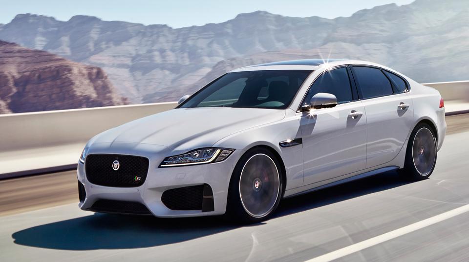 Дизельный Jaguar XF получил полный привод