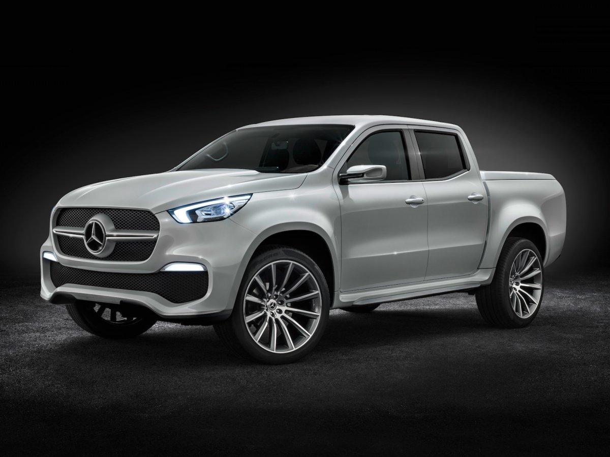 Mercedes может выпустить пикапы X Class на рынок США