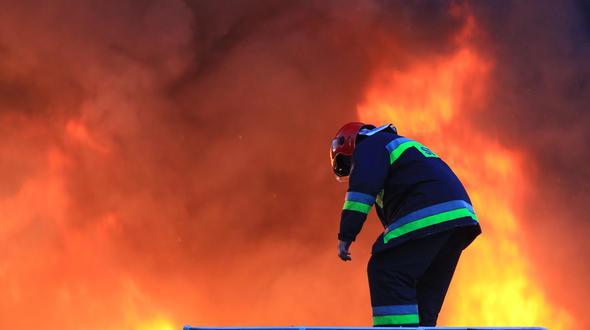 Напожаре вТоржокском районе пострадал человек