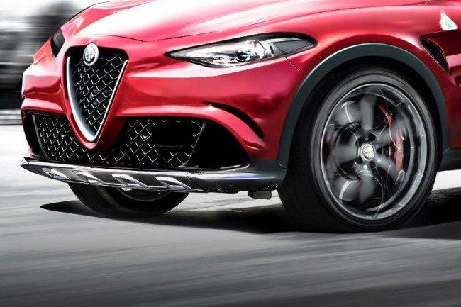 Alfa Romeo покажет свой первый кроссовер на автосалоне в Лос-Анджелесе
