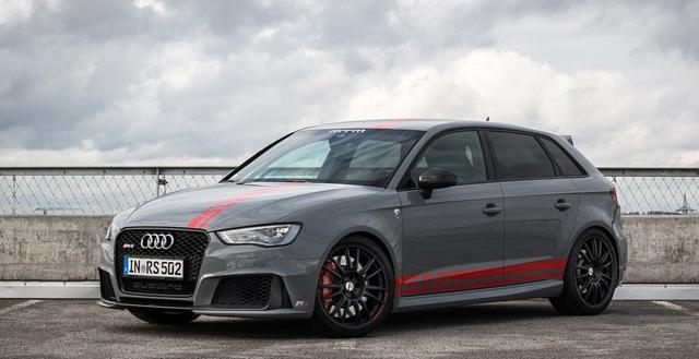 В Женеве презентовали тюнинговую версию Audi RS3