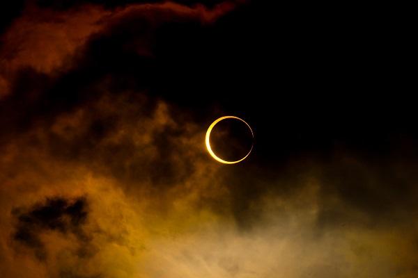 В NASA показали визуализацию солнечного затмения 8 марта
